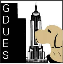 Website logo for Guide Dog Users of the Empire State